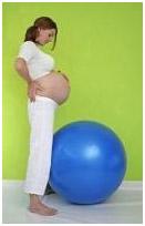 gym ballon pre-natal au cabinet de sage-femme double coeur